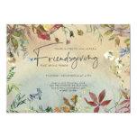 FINE FALL | Watercolor Friendsgiving Feast Invitation
