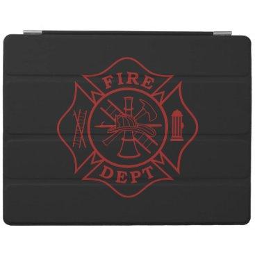 Fire Dept Maltese Cross iPad 2/3/4 Cover/Stand iPad Smart Cover