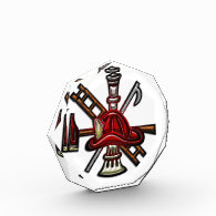 Firefighter Fire and Rescue Department Emblem Awards
