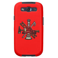 Firefighter Fire and Rescue Department Emblem Samsung Galaxy S3 Cases