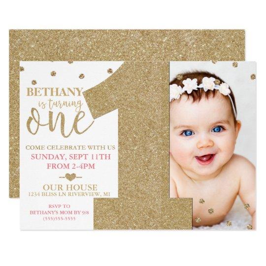 First Birthday Invitations
