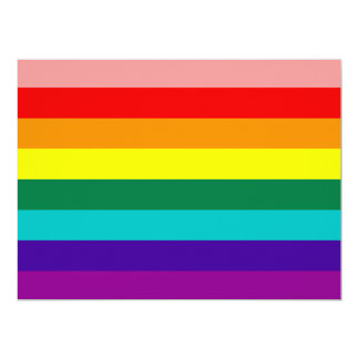 Eight-color Gay Pride Flag.
