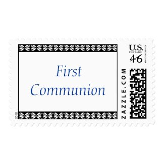 FirstCommunion stamp