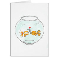Fishie Love Note Card