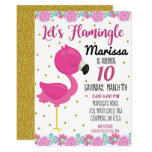 ❤️ Flamingo, Flamingle Birthday Party Invite