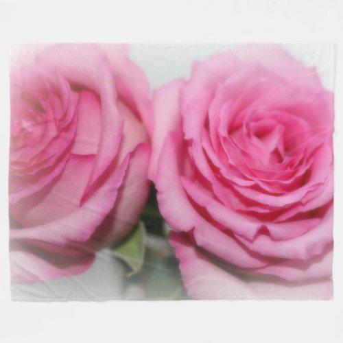 Fleece Blanket/Rose