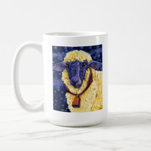 Fleece On Earth - Starry Night Sheep Coffee Mug mug
