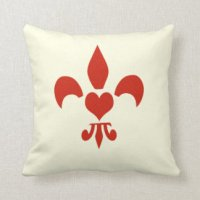 Fleur De Lis Pillows - Decorative & Throw Pillows | Zazzle