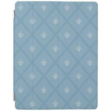 Fleur-de-lis pattern iPad smart cover