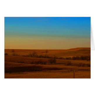 Flint Hills note card