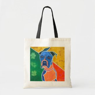 Flip Flop - An Austin Boxer Rescue Success Story Canvas Bag