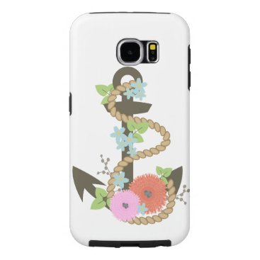 Floral Anchor Phone/Tablet Case