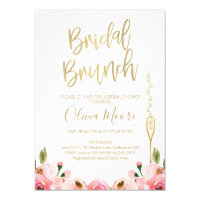 55fb9ec4cef Floral Bridal Brunch Bridal Shower Invitation