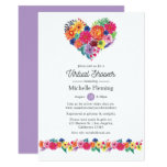 Floral Fiesta Virtual Baby or Bridal Shower Invitation