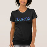 Florida - Blue Gradient t-shirts
