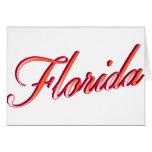Florida Elegant Script cards