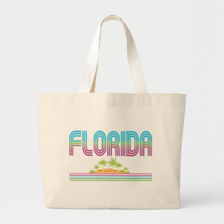 FLORIDA Retro Neon Palm Trees Bag