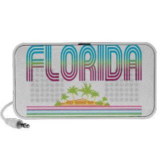FLORIDA Retro Neon Palm Trees iPhone Speaker
