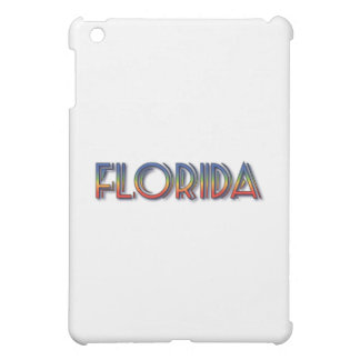 Florida Seaside - Rainbow Text Case For The iPad Mini