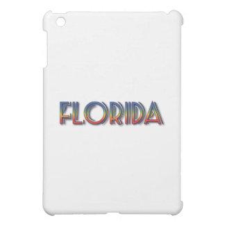 Florida Seaside - Rainbow Text Case For The iPad Mini