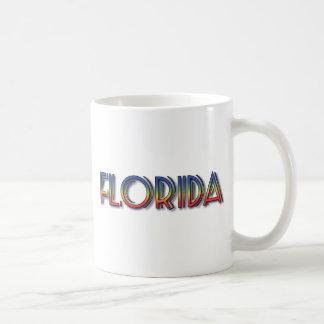 Florida Seaside - Rainbow Text Mugs