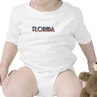 Florida Seaside - Rainbow Text Tee Shirt