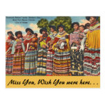 Florida, Seminoles Ft. Myers Postcard