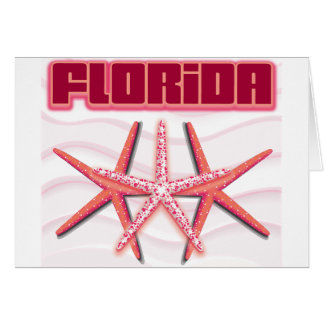 Florida Starfish Cards