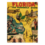 Florida The Peninsula State Postcard