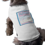 Florida White Flamingos pet clothing