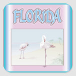 Florida White Flamingos stickers