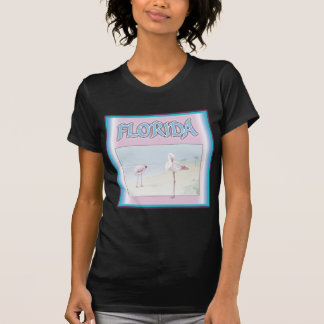 Florida White Flamingos T Shirt