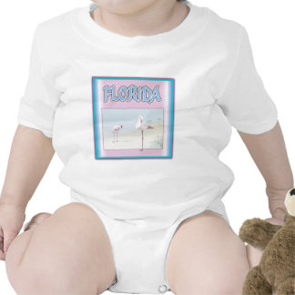 Florida White Flamingos T Shirts