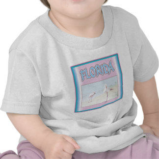 Florida White Flamingos Tshirt