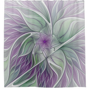 purple and green shower curtains zazzle