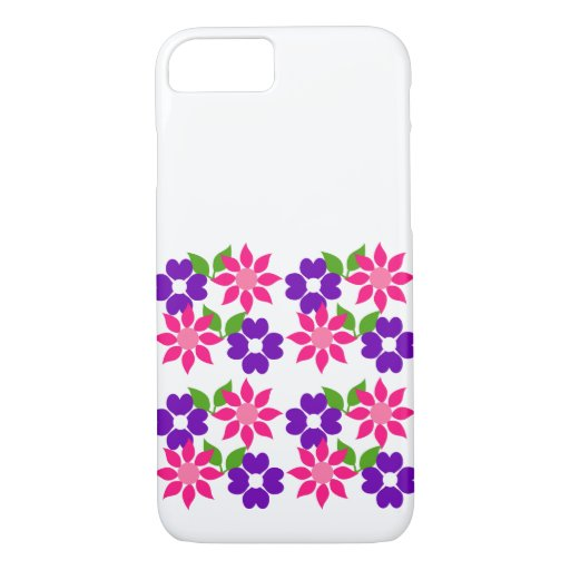 Flower sample iPhone 7 case