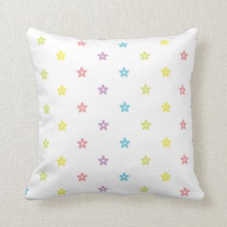 Flowerish Pattern Pillow