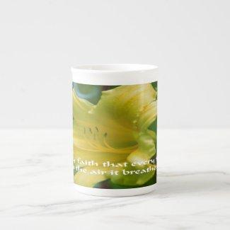 Flowers Tea Cup