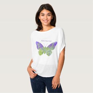 Pastel Butterfly Fibro Warrior Shirt