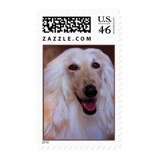 Flowing Hair Postage
