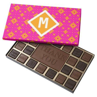 Monogram 45 Pc Chocolates