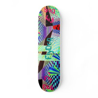 FlyDog - Custom Skateboard Deck - CricketDiane skateboard