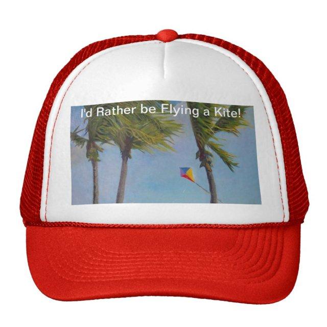 Flying a Kite Trucker Hat