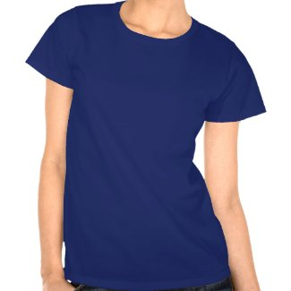FLYWOMAN womens T Shirt blue