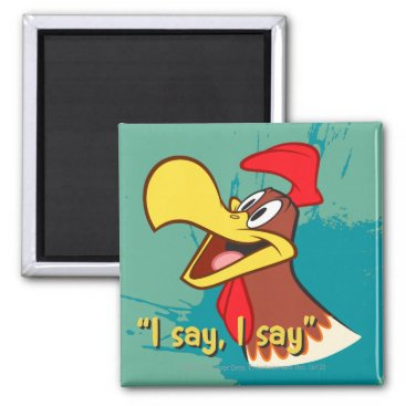 Foghorn Looking Up Magnet