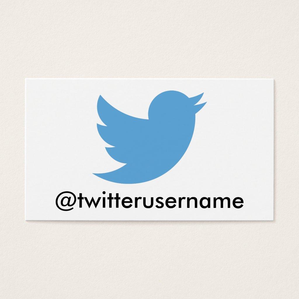 Follow Me On Twitter (Customizable Username)