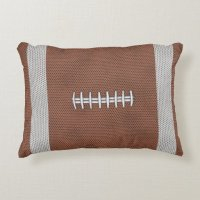 Football Decorative Pillow | Zazzle