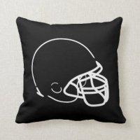 Football Pillows - Decorative & Throw Pillows | Zazzle