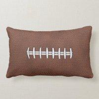 Football Lumbar Pillow | Zazzle