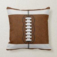 Football Pillow | Zazzle